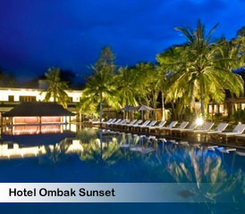 Hotel Ombak Sunset Lombok Accommodations Discount By