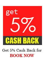 Get 5% Cash Back